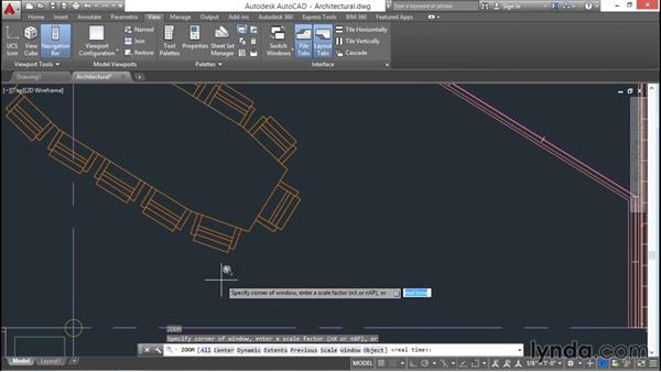 Using the Zoom command to navigate: AutoCAD 2016 Essential Training