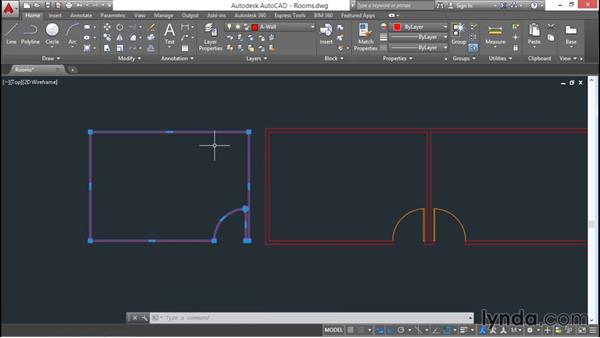 Creating boundaries and cleaning up: AutoCAD 2016 Essential Training