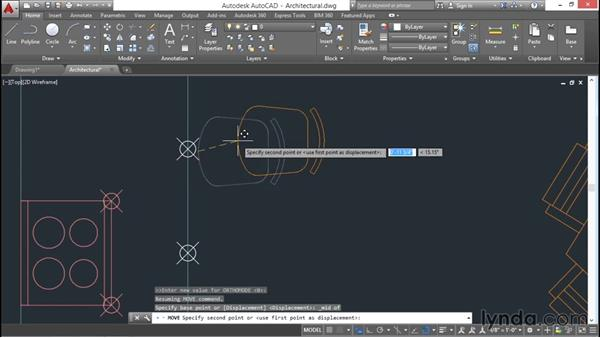 Dividing and measuring: AutoCAD 2016 Essential Training