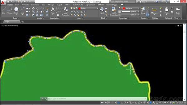 Editing polylines and splines: AutoCAD 2016 Essential Training