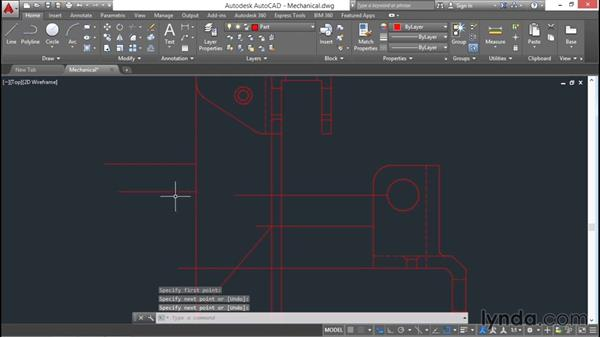 Working with object snaps: AutoCAD 2016 Essential Training