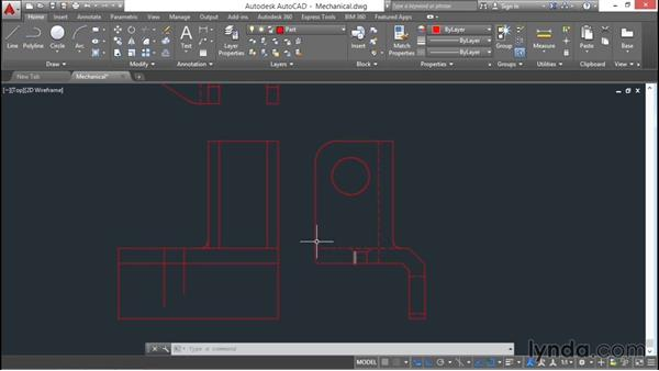 Engineering project: Part drawing: AutoCAD 2016 Essential Training