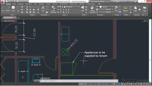 Creating multileaders: AutoCAD 2016 Essential Training