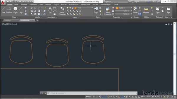 Working with groups: AutoCAD 2016 Essential Training