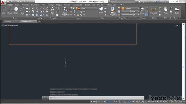 Creating and inserting blocks: AutoCAD 2016 Essential Training