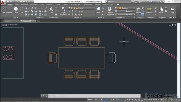 Exploding objects with Explode and Xplode: AutoCAD 2016 Essential Training