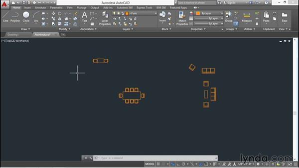 Exporting objects to a file: AutoCAD 2016 Essential Training