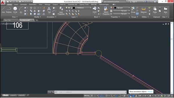 Creating annotative text styles: AutoCAD 2016 Essential Training