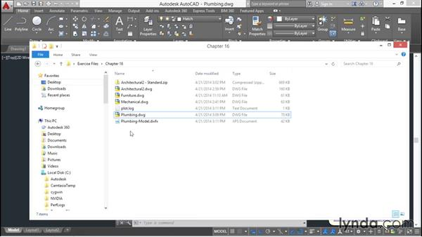 Outputting DWFx files for sharing online: AutoCAD 2016 Essential Training