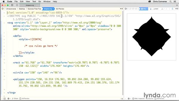 Adding CSS to an SVG: Design the Web: Responsive SVG Images