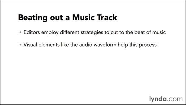 Introduction to beating out a music track: Video Post Tips Weekly