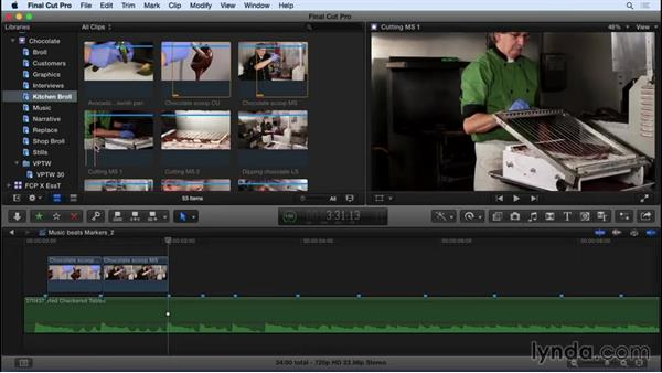 Beating out a music track in FCP X : Video Post Tips Weekly