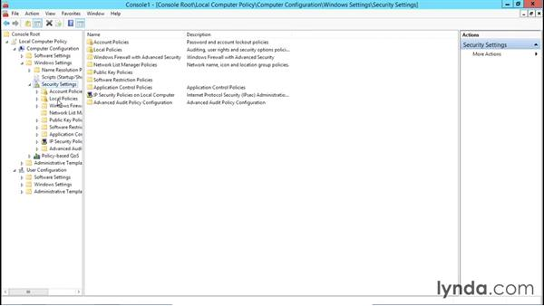 Configuring an audit policy: Creating and Managing Group Policy for Windows Server 2012