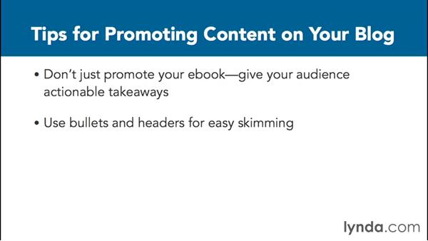 Promoting on your blog: Content Marketing Fundamentals