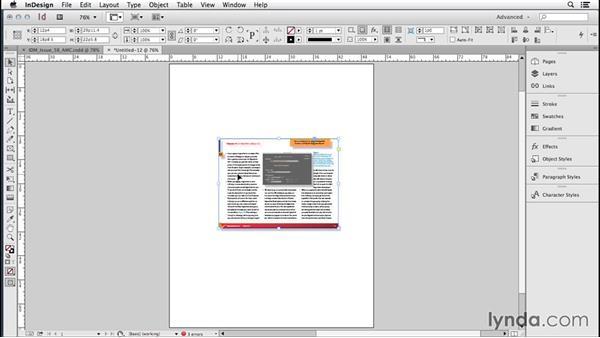 189 Placing InDesign files: InDesign Secrets