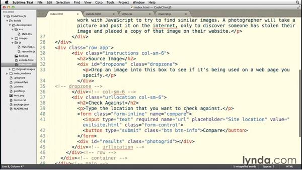 Understanding our HTML page: Code Clinic: JavaScript