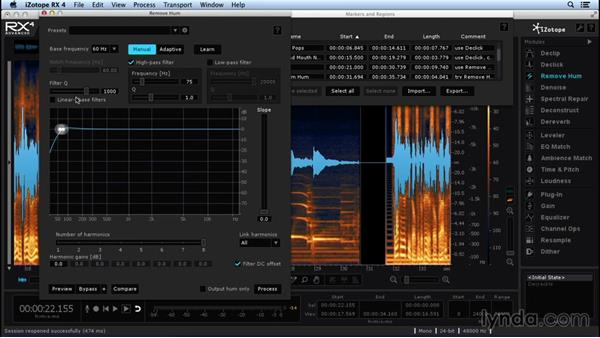 Philosophy and workflow of repairing and enhancing audio: Repairing and Enhancing Audio with iZotope RX 4