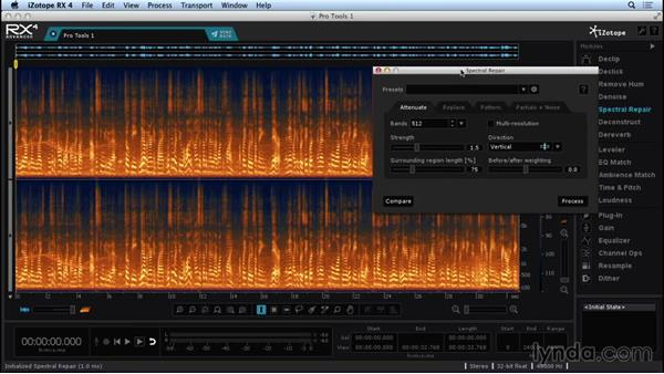 Connecting to a DAW with RX Connect: Repairing and Enhancing Audio with iZotope RX 4