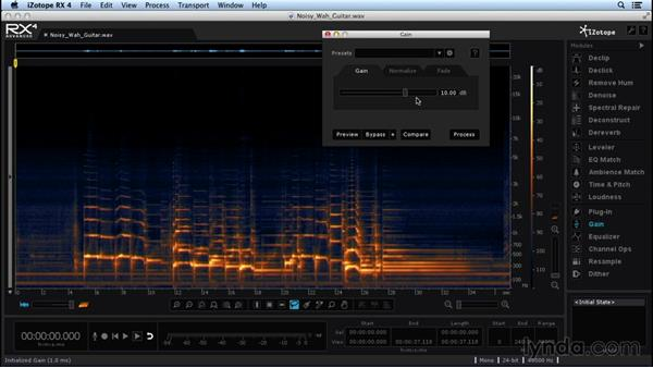 Logic Pro X to RX workflow and gain tools: Repairing and Enhancing Audio with iZotope RX 4