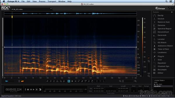 Removing guitar amp noise with Denoise: Repairing and Enhancing Audio with iZotope RX 4