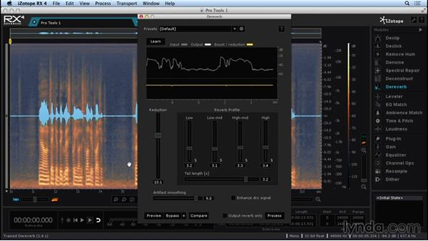 Exploring the Dereverb module: Repairing and Enhancing Audio with iZotope RX 4