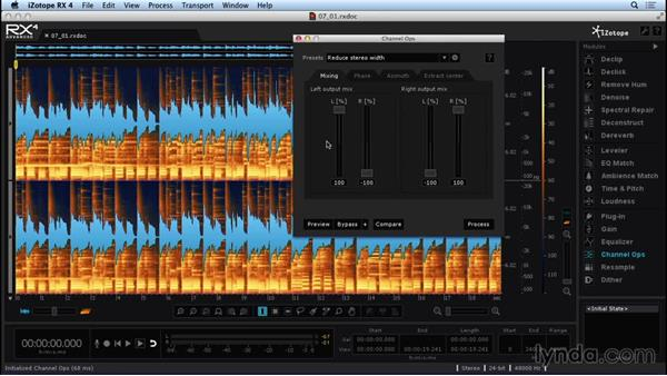 Exploring Channel Ops: Repairing and Enhancing Audio with iZotope RX 4