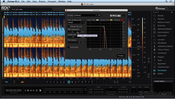 Using RX Dither and Resample: Repairing and Enhancing Audio with iZotope RX 4