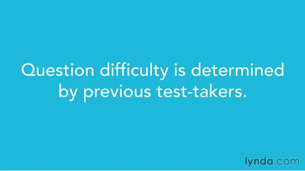 Reviewing the ordering of difficulty for questions: SAT Prep: Getting Started