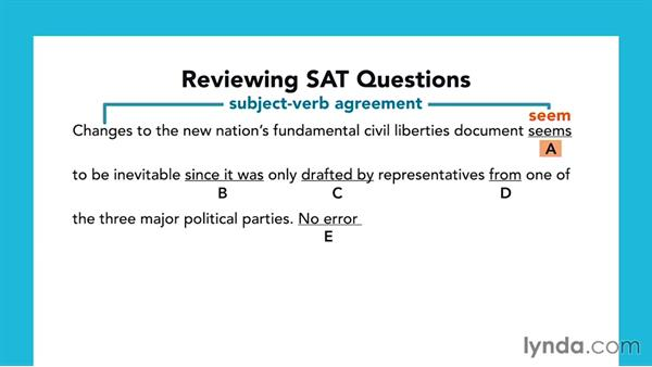 The importance of reviewing questions: SAT Prep: Getting Started