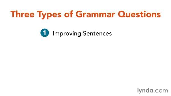 Overview of SAT grammar questions: SAT Prep: Getting Started