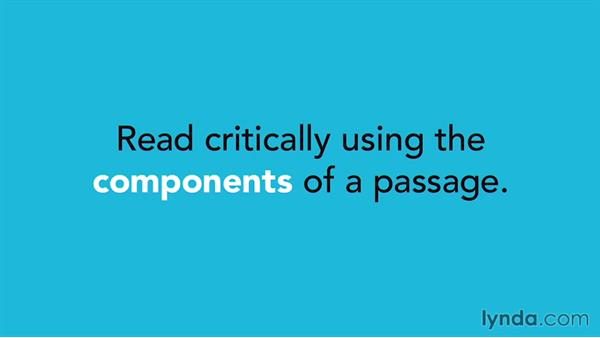 Reading efficiently and critically: SAT Prep: Getting Started