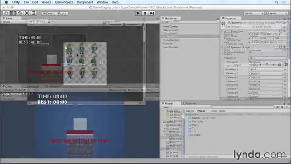 Welcome: Unity 5 2D Essential Training (2015)