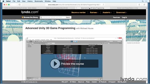 Next steps: Unity 5 2D Essential Training (2015)
