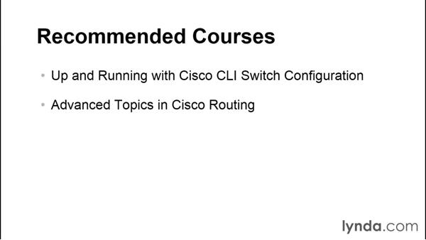 Goodbye: Up and Running with Cisco CLI Router Configuration