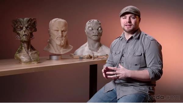 Introduction to sculpting with Dynamesh: Sculpting a Creature with ZBrush and Photoshop