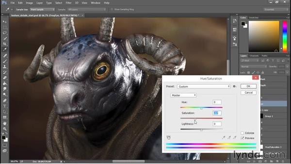 Digitally painting with texture: Sculpting a Creature with ZBrush and Photoshop