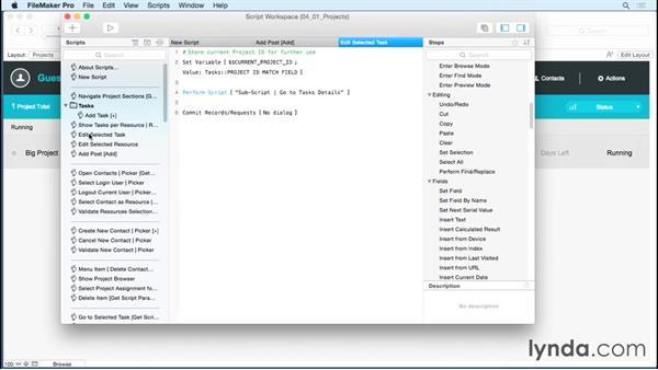 Introducing the Script workspace: FileMaker 14 Platform New Features