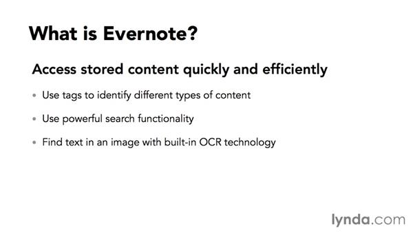 What is Evernote?: Up and Running with Evernote