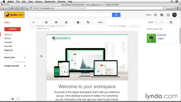 Getting Evernote: Up and Running with Evernote