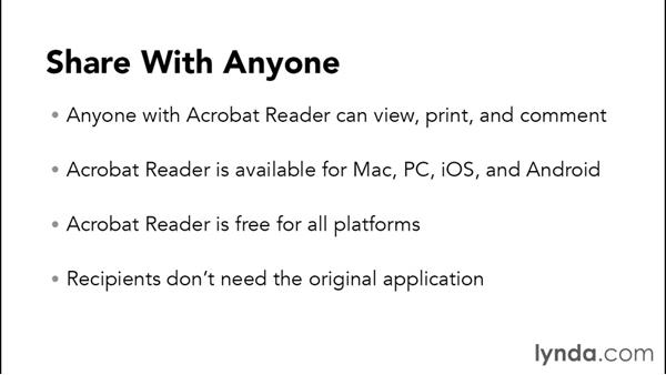 About the Portable Document Format: Acrobat DC Essential Training
