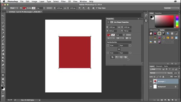 Creating round corners in Photoshop: Creative Quick Tips
