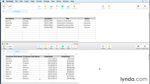 Comparing flat vs. relational databases: FileMaker Pro 14 Essential Training