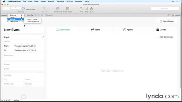 Creating solutions from starter solutions: FileMaker Pro 14 Essential Training