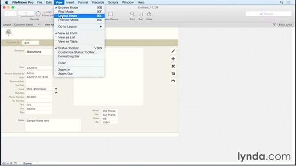 Setting field behaviors: FileMaker Pro 14 Essential Training
