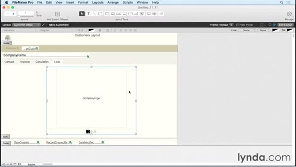 Using slide controls in your layouts: FileMaker Pro 14 Essential Training