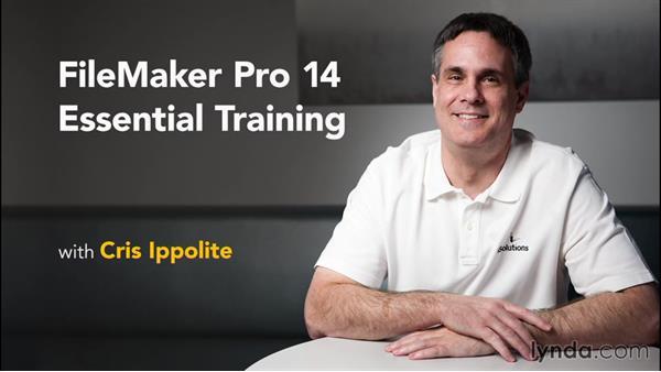 Goodbye: FileMaker Pro 14 Essential Training
