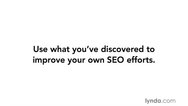 Next Steps: Spying with SEO Tools