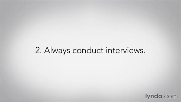 Hiring is half the work: Pro Video Tips
