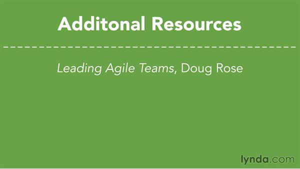 Next steps: Agile at Work: Planning with Agile User Stories