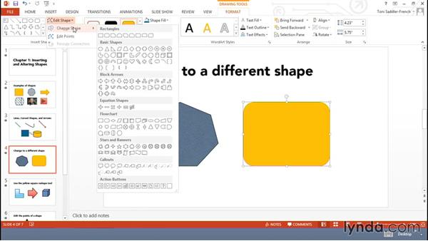 Inserting and altering shapes: Using Office Shapes and SmartArt to Enhance Business Documents